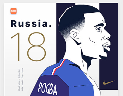 Russia WC 2018 - animations for GZH