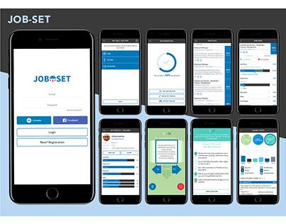 Mobile app | JOB-SET