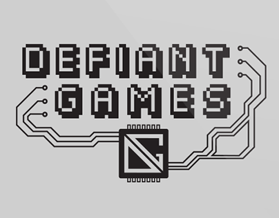 Image result for defiant games logo
