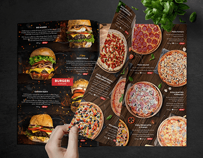 Design food menu for OLDINTIM