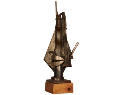 Metal Sculptures by Eugenio de la Torre