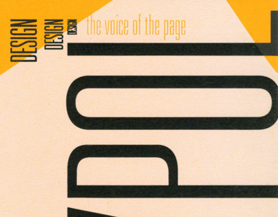 The Voice of the Page