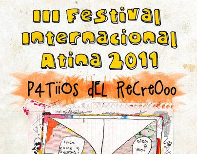 Festival Internacional Atina 2011 - Patios del recreo