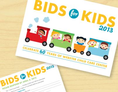 Webster Child Care Center: Bids for Kids 2013