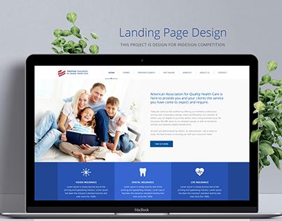Dental Care Web Page