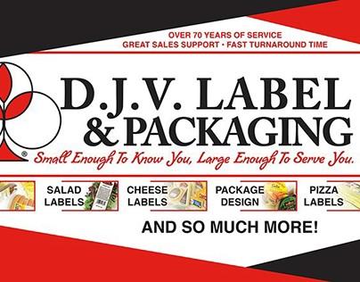D.J.V. Label & Packaging Art