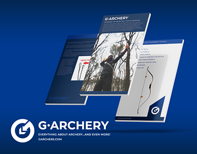 G-Archery. Logo, identity & icons.