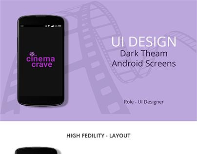 App Dark Theam