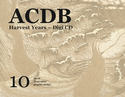 ACDB Harvest Years ~ Digipack CD