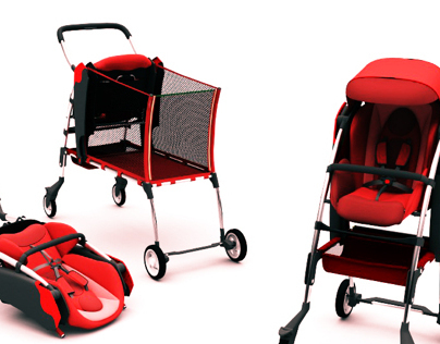Baby Stroller for Shopping