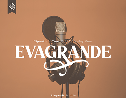 FREE | Evagrande Modern Display Font