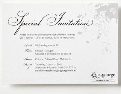 Cocktail Event - INVITATION DESIGN