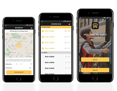 Mobile App | Mybus