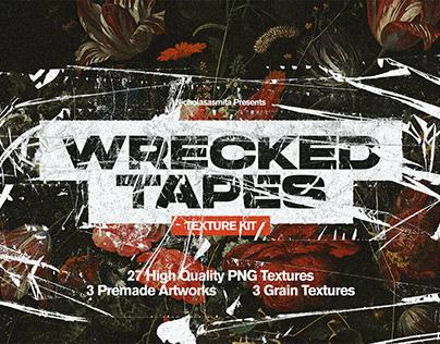 Wrecked Tapes Texture KitbyNicholas Lokasasmita
