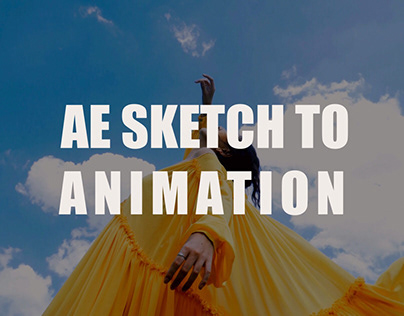 After Effects- Sketch to Animation