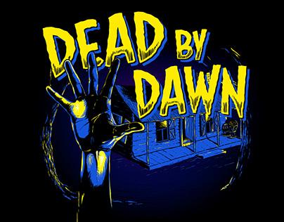 Dead by Dawn – illustration + label design