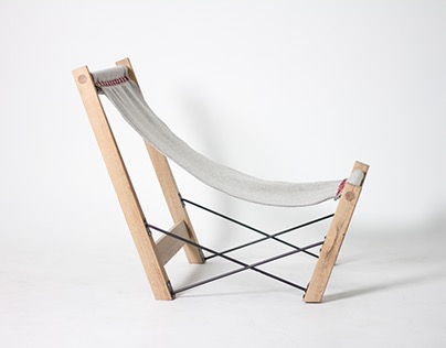 Kryss - A Norwegian Handmade Lounge Chair