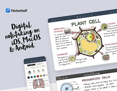 Noteshelf: Digital Note-taking App