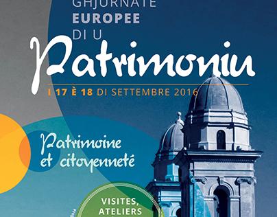 Affiche Journées du Patrimoine Bastia 2016