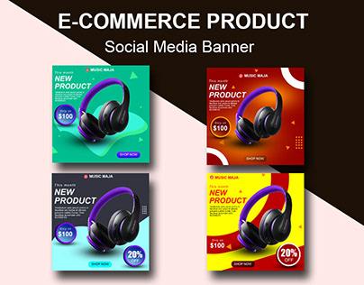 E-commerce Product Social Media Banner
