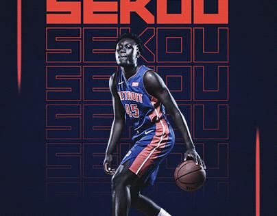 Sekou Doumbouya Poster