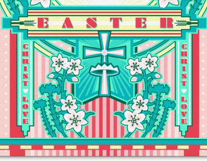 Easter Invite for Postmark by Evite