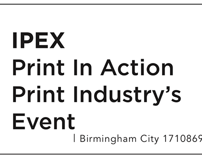 IPEX Print In Action Submission