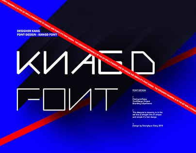 KangD Font Design