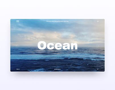 Design marathon - Ocean