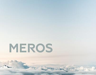 UI/UX design & development for Meros