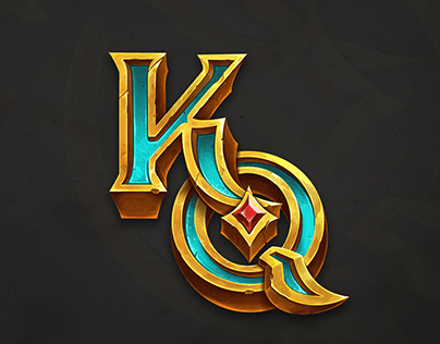 Fantasy game logo for card game⭐️
