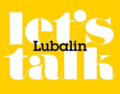 Let's Talk Lubalin Booklet