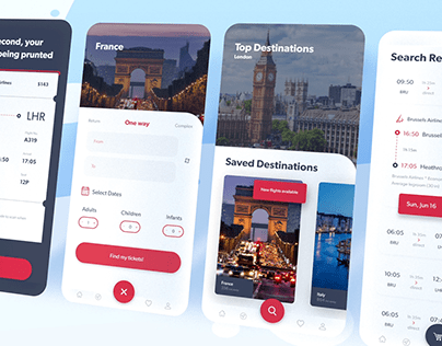 Air ticket aggregator - ios & android application
