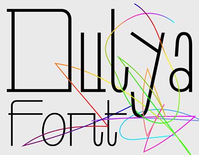 Dulya – Free font