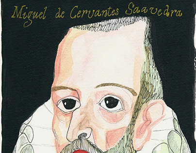 Cervantes & Don Quijote characters