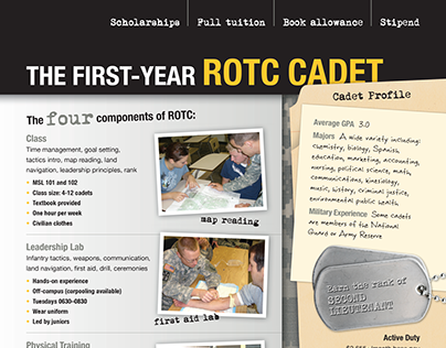 UW-Eau Claire ROTC: The First-Year ROTC Cadet