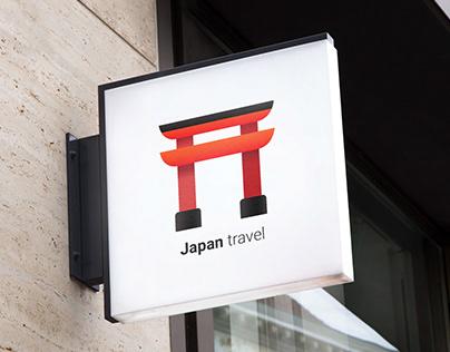 Japan Travel logo & branding