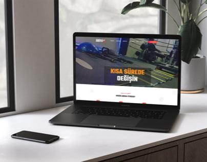 Arena Fitness Spor Salonu Web Tasarım