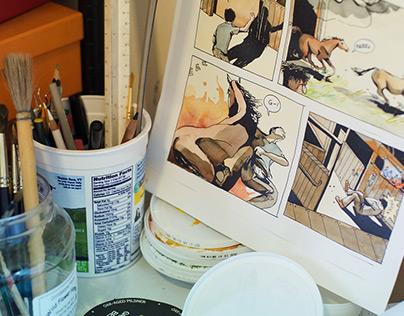 Danica's studio