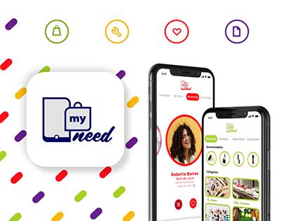 My Need App | UX/UI Design