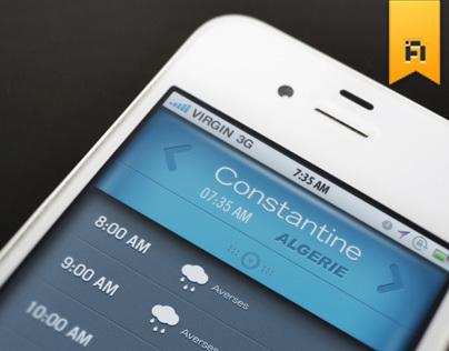 Weather GUI App