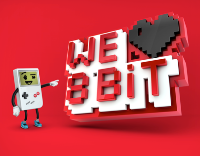WE LOVE 8BIT - RETRO GAMES ART SHOW