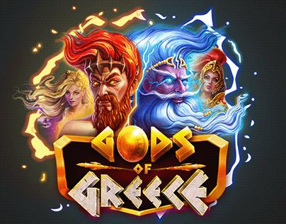 UI for GODS of Greece slot