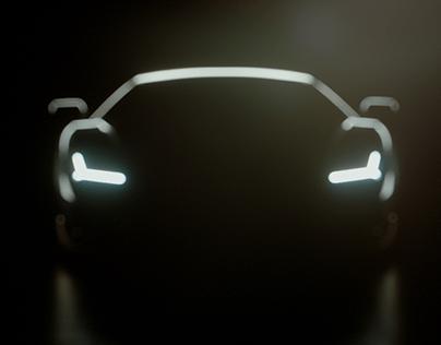 Lamborghini Centenario animation experiment