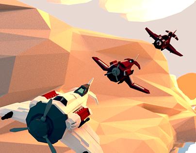 V8ORS - Flying Rat - Game Concept