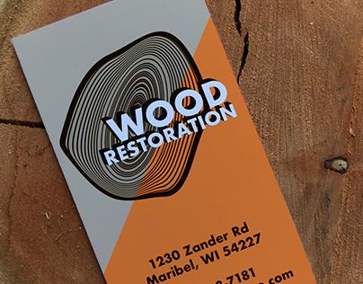 Wood Restoration Logo