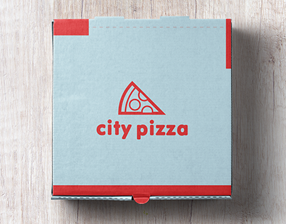 City Pizza - Logo and Product Design