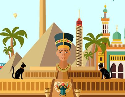 Pharaoh city (Motion Intro)