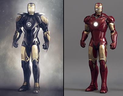 Iron man suit designs