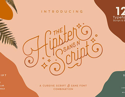 Hipster Style - Stylish Font Duo